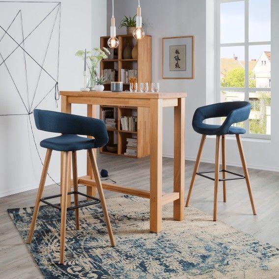 Chaises De Bar Volda Lot De 2 En 2020 Chaise Bar Chaises De Table A Manger Chaise De Bar Design