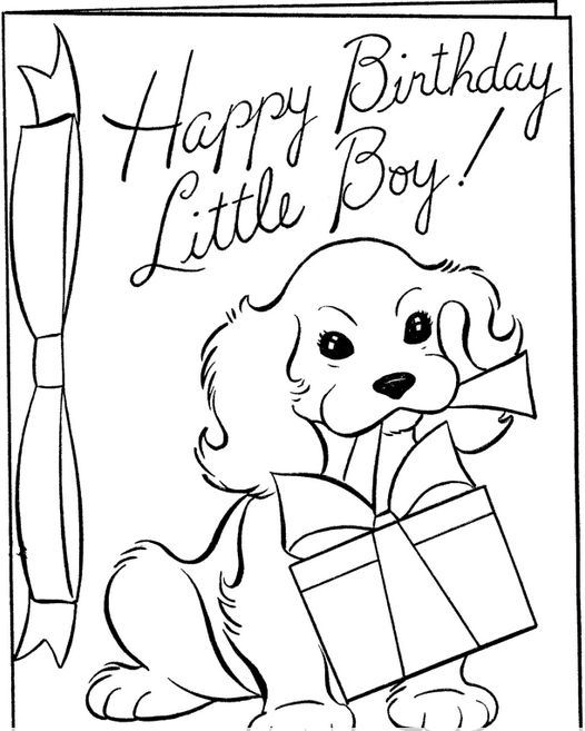 happy birthday boy coloringpageadult coloring pagesmore pins like this