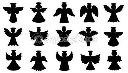 silhueta de anjo em png - Pesquisa Google