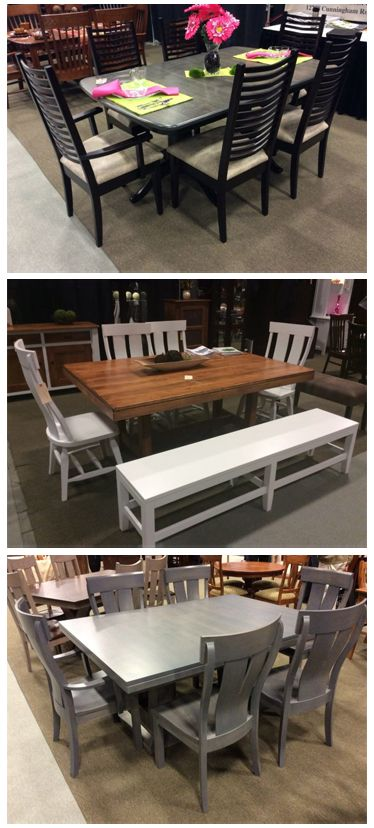Which Of These Beautiful Dining Room Sets Would You Like To See In Our Showrooms