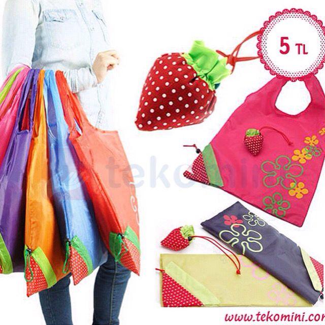 Çilek Çanta 5 TLÇilek çanta ile pazara çıkmak, alışveriş yapmak çilek tadında!Canlı renkleri ve etkili kullanım alanına sahip Çilek Çantaları yanınızdan hiç ayırmayacaksınız...Siyah, Kahverengi, Pembe, Kırmızı renk seçenekleri vardır.WhatsApp: 0538 490 98 10#çilek #çanta #alışveriş #pazar #plaj #alışverişçantası #pazarçantası #plajçantası #renkli #tekomini