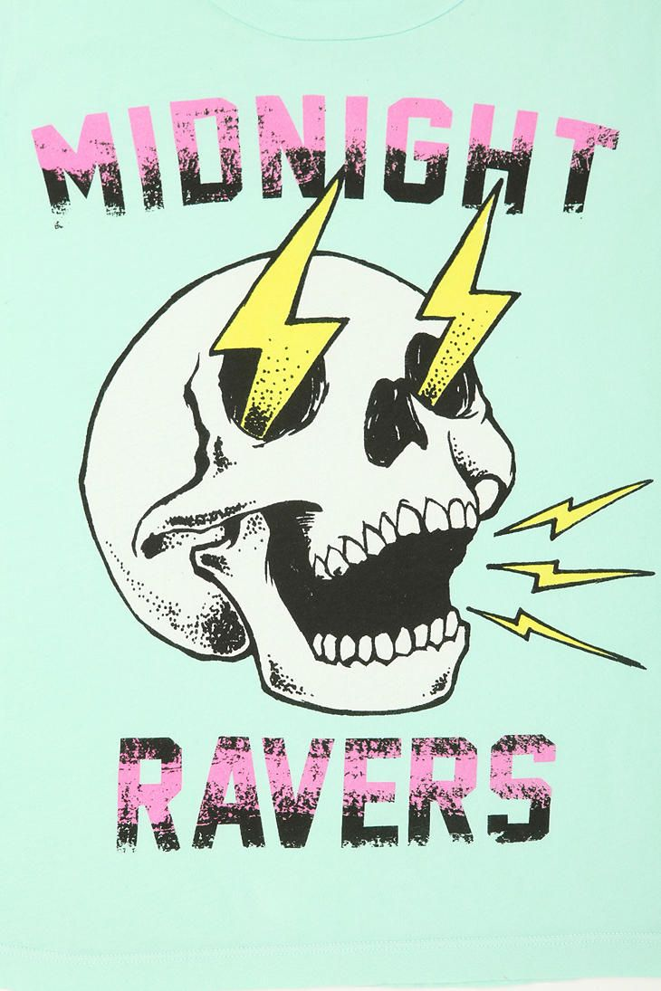 Midnight Ravers Muscle Tee