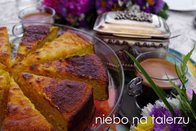 Ciasto bez mąki z gotowanych pomarańczy - nie tylko dla alergików. Ciasto bez glutenu, zdrowsze, nie skacze po nim cukier.