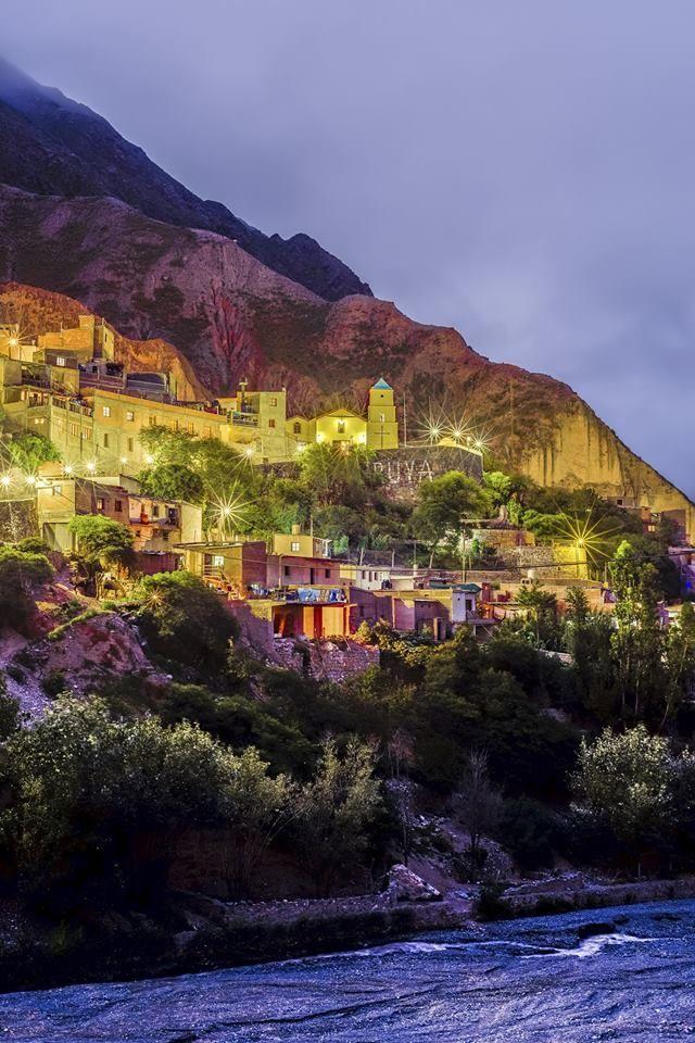 A 300 Km de la capital de #Salta  cuelga el pueblo de #Iruya, a 2780 msnm sobre la cara este de la sierra Santa Victoria.