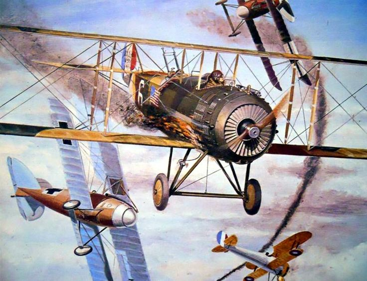 Salmson 2A2 of the US 1st Aero Squadron