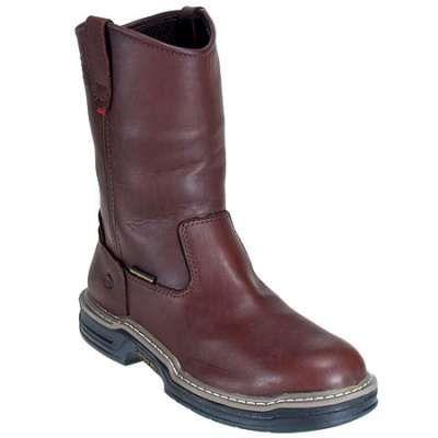 Wolverine mens multishox steel toe wellington boots 4826 in Men Steel Toe Boots