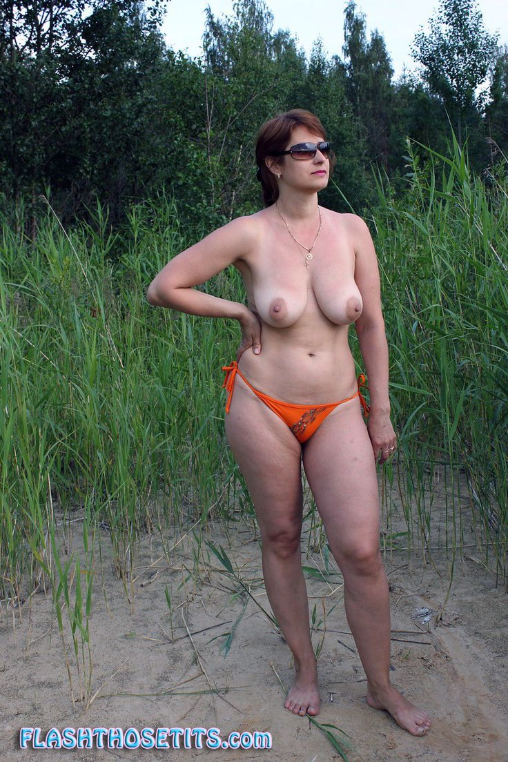 Nude natural tanned hangers milf brunette would