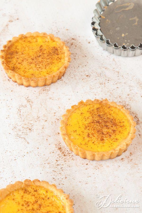 Custard Tarts recipe | ledelicieux.com