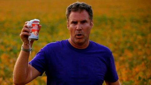Will Ferrell for Old Milwaukee Beast.  Superbowl commercial films in Davenport, IA, Terre Haute, IN, and Milwaukee.  Aired only in North Platte, NE.