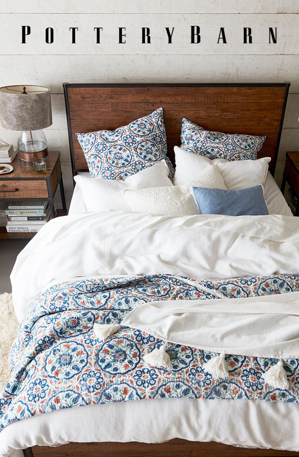 Outfit Your Sleep Sanctuary With The Softest Bedding Around From Organic Cotton Sheets To Handcrafted Quilts