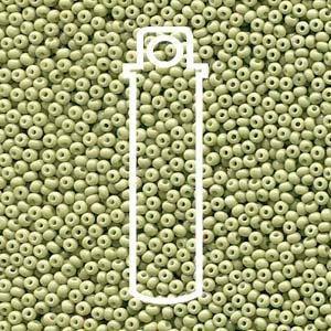Czech  Sol Gel  Celadon Opaque  Seed Beads  11/0  24 Gram