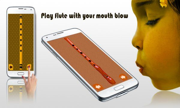 Real Flute : Musical Instrument:Amazon:Mobile Apps