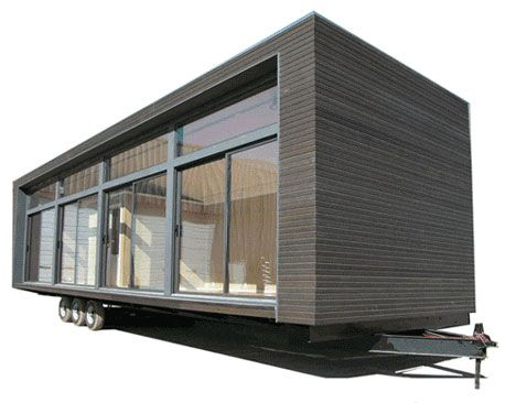 Modern house trailers