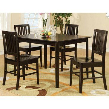 Curtis Pack Dinette Homelegance In Casual Dining Sets Take A Fresh Approach To With The Collection This Set Wenge