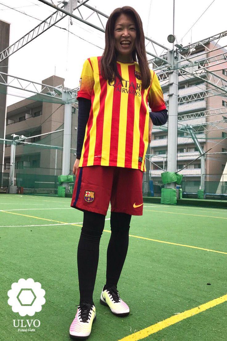 #フットサル #サッカーウェア #フットサル女子 #nike #ULVO