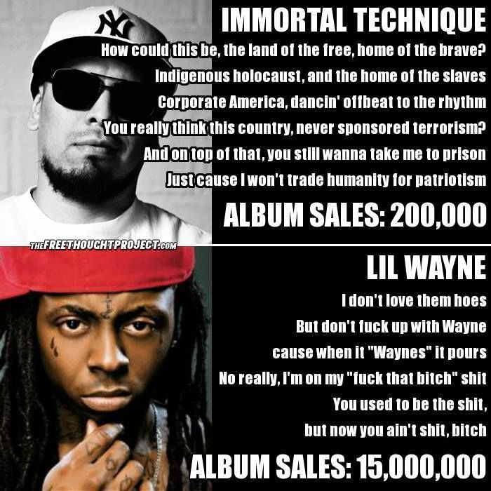"""While Mainstream Rap Pushes """"B**ches & Money,"""" Artist Immortal Technique Tackles the Police State 