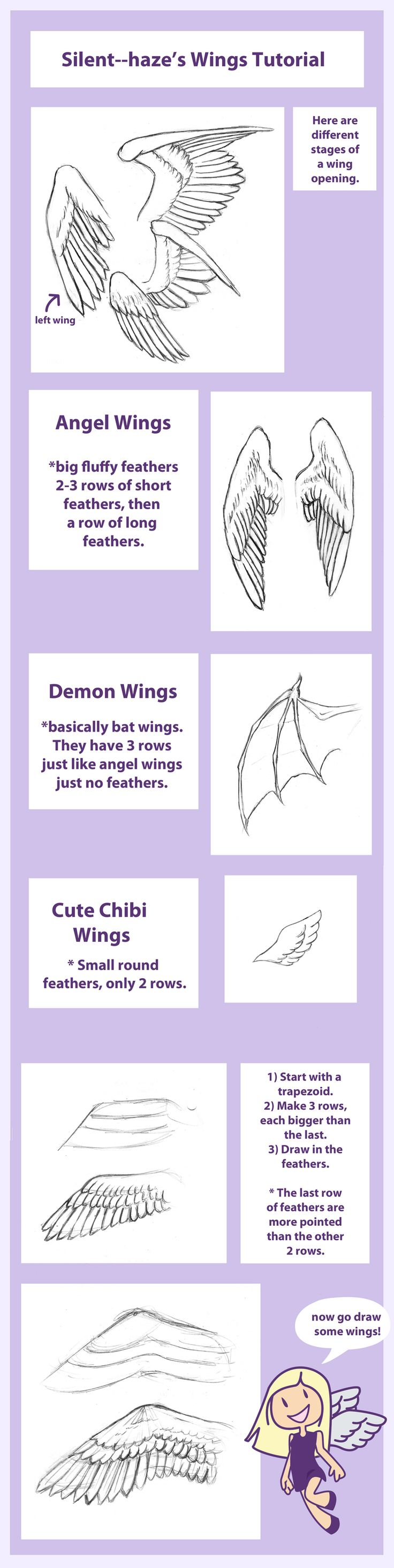 Wing Tutorial by Silent--Haze.deviantart.com