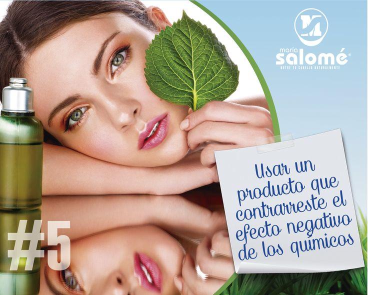 Usar un producto que contrarreste el efecto negativo de los químicos. http://www.mipropositocapilar.com/