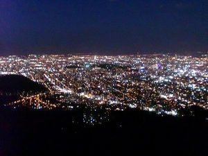 札幌、夜景