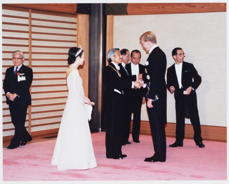 Emperor Akihito's coronation