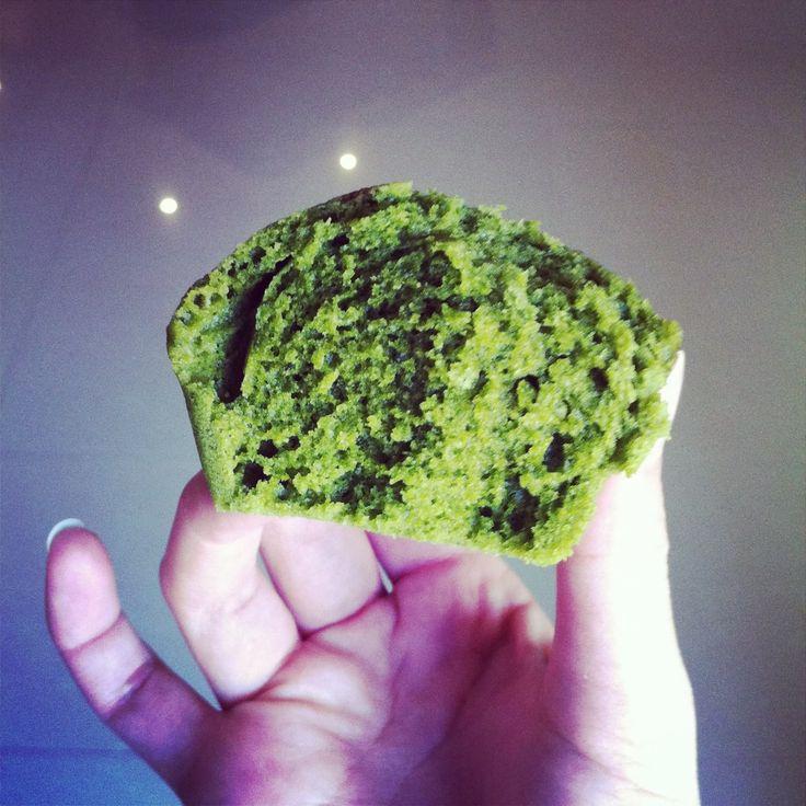Matcha Mushipan (Green Tea Japanese Steamed Cup Bread)