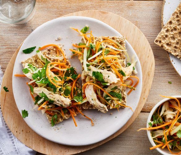 Asian Coleslaw with Chicken