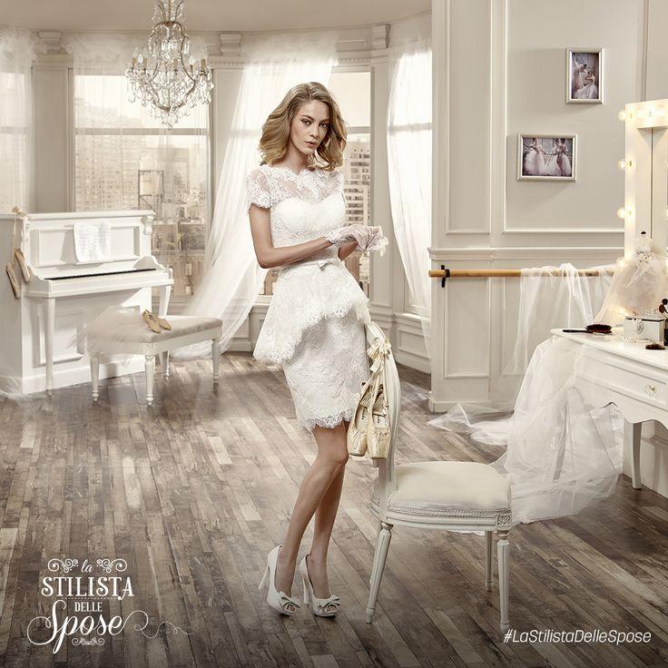 Episodio 1 - L'abito corto indossato da Alina, una dolcissima sposa-mamma!  http://nicolespose.it/it/abito-da-sposa-Nicole--NIAB16037-2016  Wedding Nicole short dress 2016 collection  #Nicole #collection #nicolespose #alessandrarinaudo #wedding #abitidasposa #bianco #white #weddingdress #sposa #short #bride #brides #bridal #LaStilistaDelleSpose #realtime