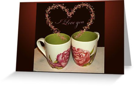 Cups of love - I love you by steppeland Price: €1.96 - Check discounts!