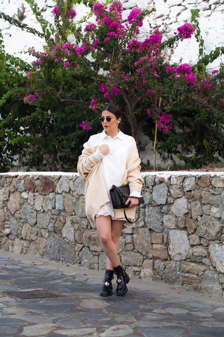 Dress The Bump - transition a summer dress into fall by Stella Asteria - Fashion