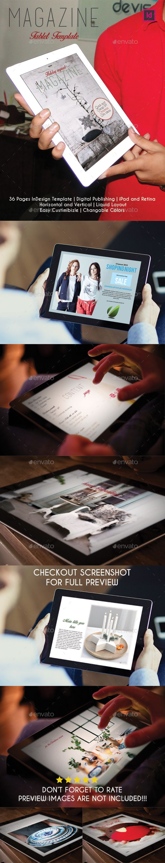 sample invitation letter for visitor visto australia%0A Holyday Inspired Magazine Tablet Template