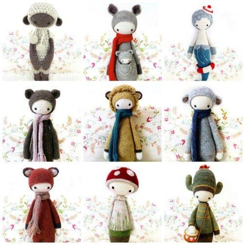 lalylala Puppen häkeln - schoenstricken - They are soooooo cute
