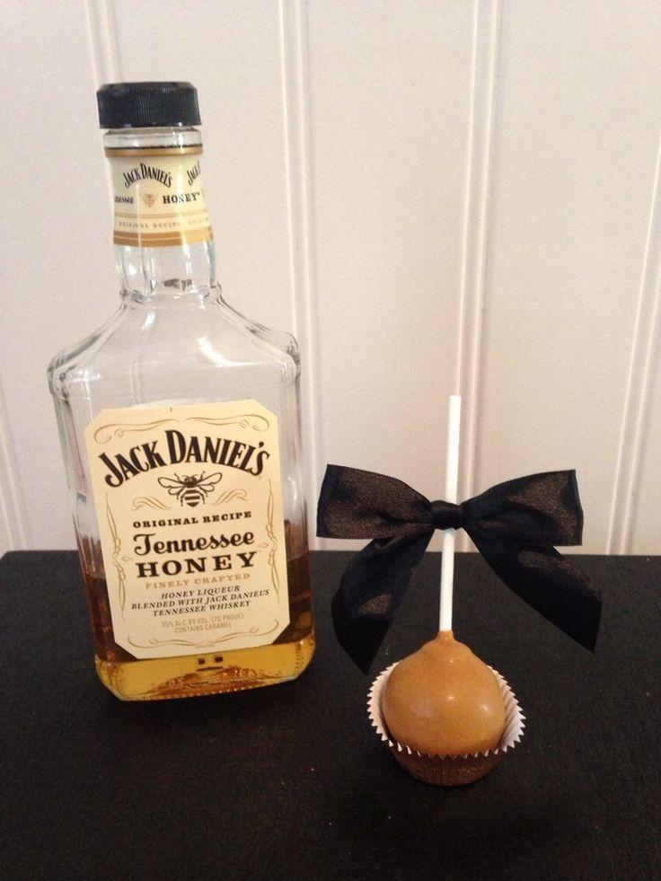 Jack Daniels Tennessee Honey Cake Pops, Drunken Whiskey Pops