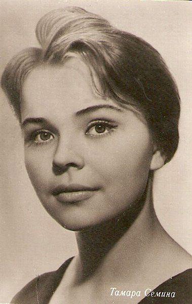 Тамара Сёмина (Тамара Бохонова)