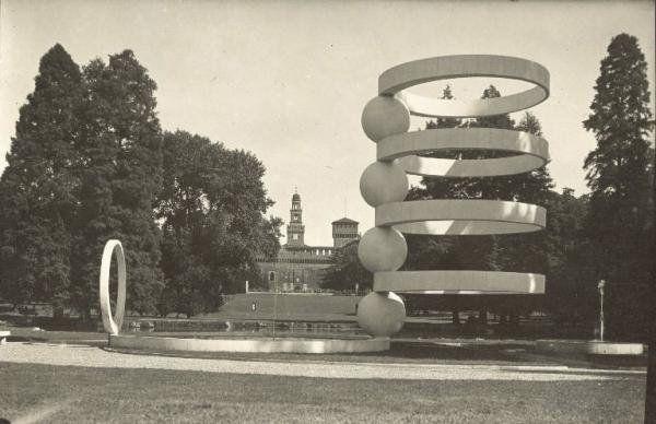 M<3 Milano - Fontana, 1936-1940 | parco Sempione | Milan