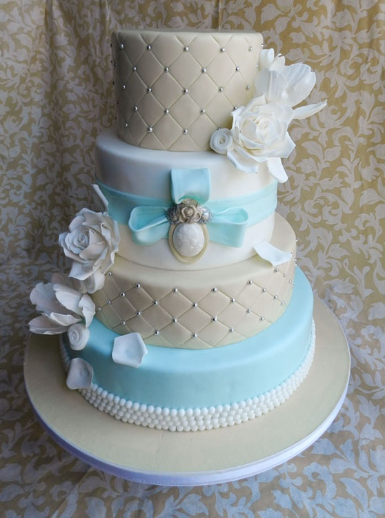 27 curated wedding cakes  tiffany theme ideas by sacatering