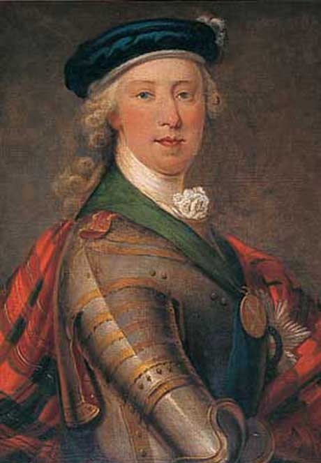Bonnie Prince Charlie.  This guy was almost King of England, but another member of the Stewart Clan got the Throne instead - a German named George.  No problem,  Otherwise we'd never have had Queen Victoria, George VI or Elizabeth II -, and we'd have all missed William and Kate's wedding and little Prince George - 'cause it would never have happened.