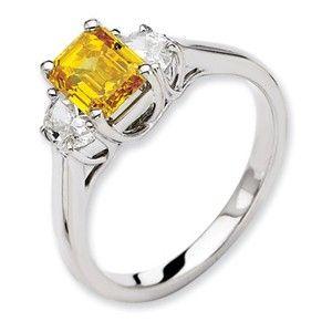14kw Emma Grace Emerald Cultured Diamond Ring -  SalmaJewelry.com  $10,231.14