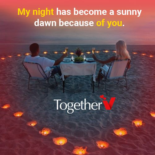 If you have a love in your life, who absolutely turns any moment of sadness into a marvelous one. Then this quote is for them. Share this love quote with your lover and see the smile on their face. It will be priceless. For more romantic experiences, download the app now https://goo.gl/QYO7g4