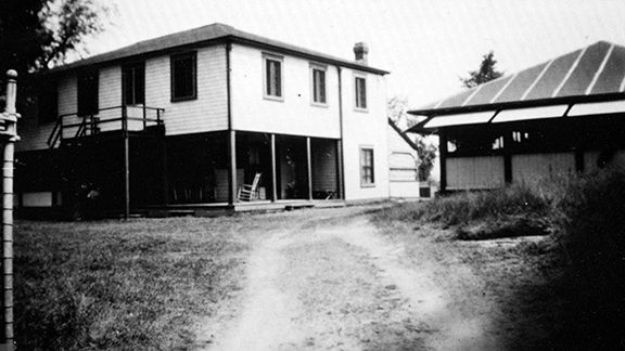 Search | Ottawa Museums & Archives Collection  	Item consists of a photograph of the exterior of the Fresh Air Cottage at Britannia, which was opened by the Order of the Kings Daughters of Ottawa.