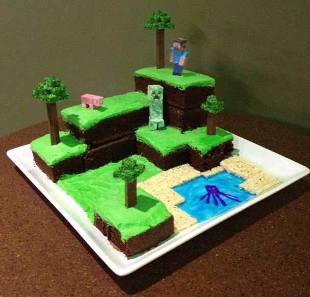 minecraft birthday cake 1000 images about minecraft cake on buzz 5906