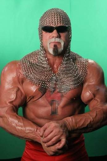 """Big Poppa Pump"" Scott Steiner (I used to think this dude and Buff Bagwell had the CRAZIEST arms I ever laid eyes on. #CRAZY"