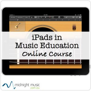 """iPads in Music Education Online Course for music teachers  . Live courses take place throughout the year (everything is recorded so you can watch sessions anytime).  """"Replay Passes"""" also available for past courses  when no live course is scheduled.   http://www.midnightmusic.com.au/ipads-in-music-education-create-perform-learn"""