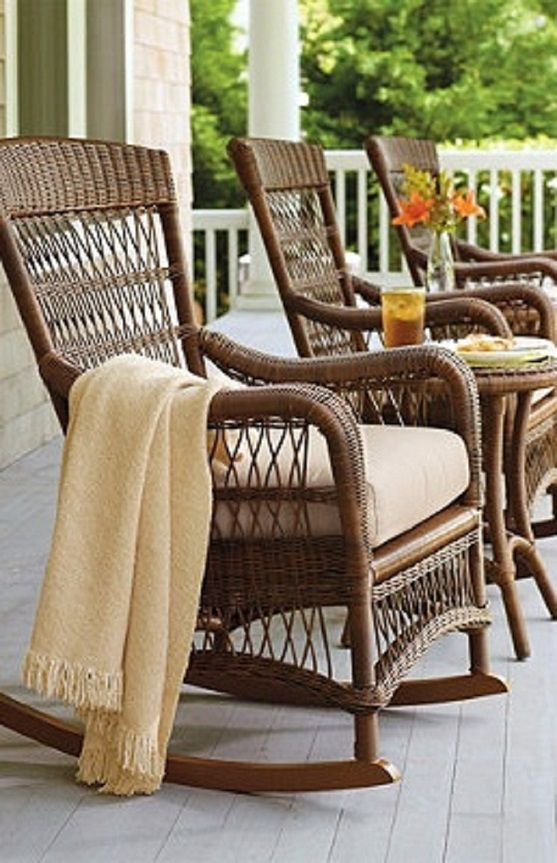 17 best images about porches and swings on pinterest for Rocking chairs for porch
