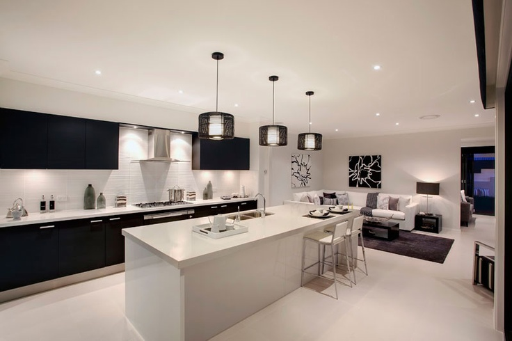 the stunning gourmet kitchen from the garden retreat