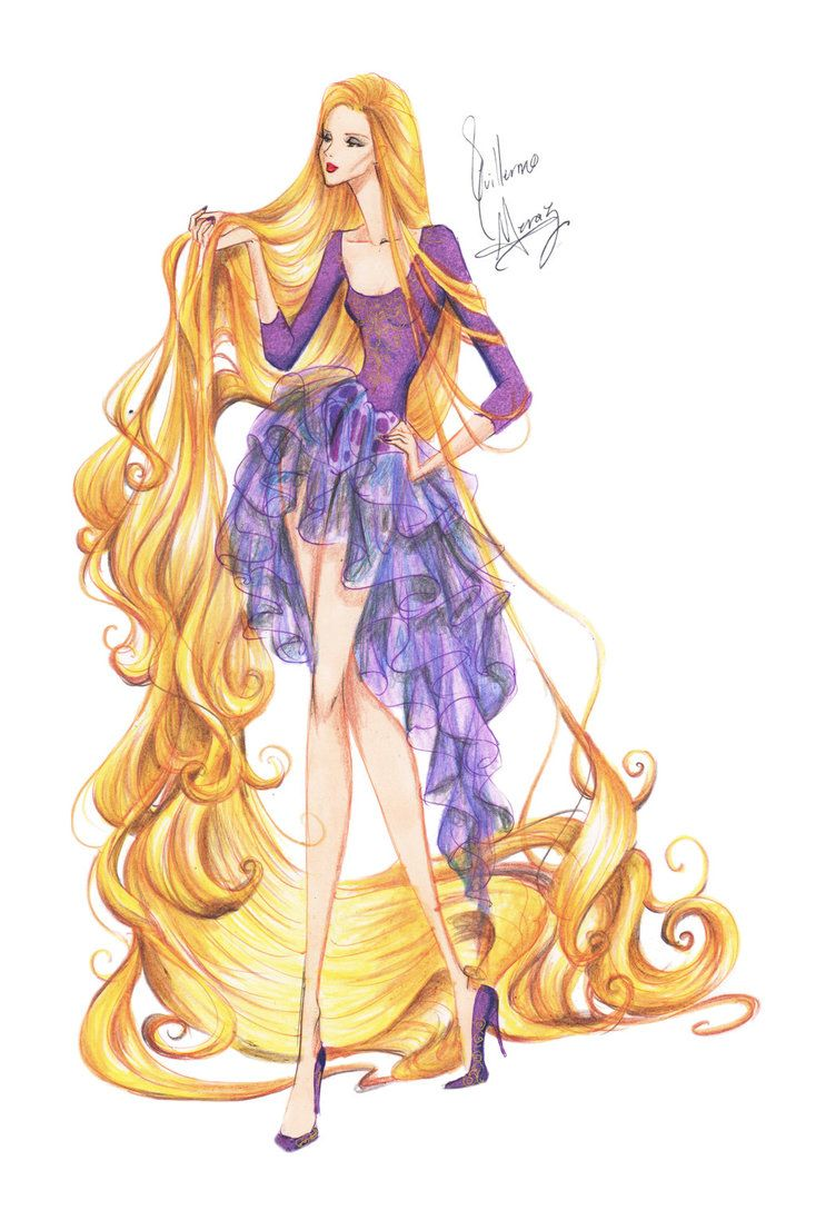 Rapunzel by Guillermo García Meraz [©2014 frozen-winter-prince]