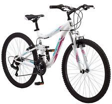 "[$114.99 save 43%] 26"" Mongoose Ledge 2.1 Dual Suspension Mountain Bike White #LavaHot http://www.lavahotdeals.com/us/cheap/26-mongoose-ledge-2-1-dual-suspension-mountain/214943?utm_source=pinterest&utm_medium=rss&utm_campaign=at_lavahotdealsus"