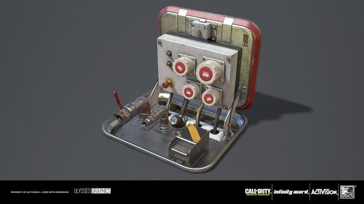ArtStation - Call of Duty: Infinite Warfare - Compressed Air Terminal, Andrew 'Zelfit' Mykhailov