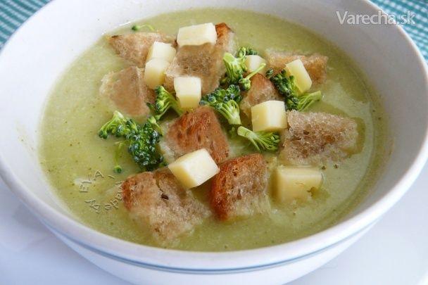 Brokolicovo-karfiolová krémová polievka (fotorecept)