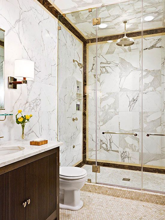 Light A Walk In Shower With Ceiling Mount Fixtures Made For Wet Location Soft Directional Lighting The Flush Design Keeps Them From Co