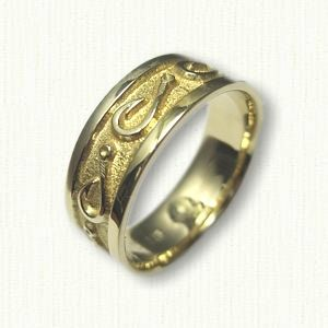 1000 images about nautical jewelry on pinterest for Fish hook wedding ring
